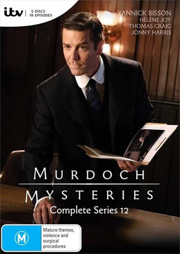 Murdoch Mysteries - Series 12 DVD    Forensic sleuthing in the age of...