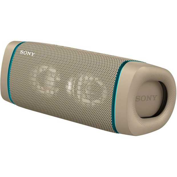 EXTRA BASS speaker LIVE SOUND mode Waterproof and dustproof, IP67 rated X-Balanced Speaker Unit...