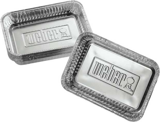 Heavy-gauge pans especially designed for barbecue use. Made to the highest quality without any sharp...
