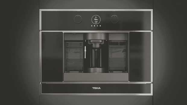 Kickstart your morning with this Teka 60cm In-Built Pod Coffee Machine CLC 835 MC. The convenience of a...
