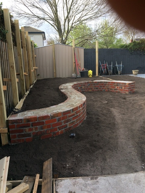 CHRIS HARRIS BRICK LAYING