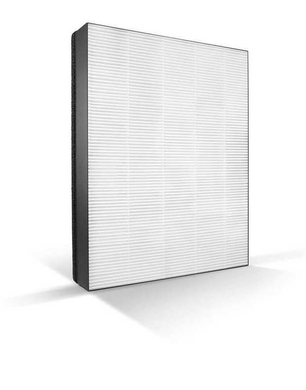 Multiple optimised pleats Filters 99.97% of 0.3 µm particles Covers an unfolded area of about 2 m2 Made...