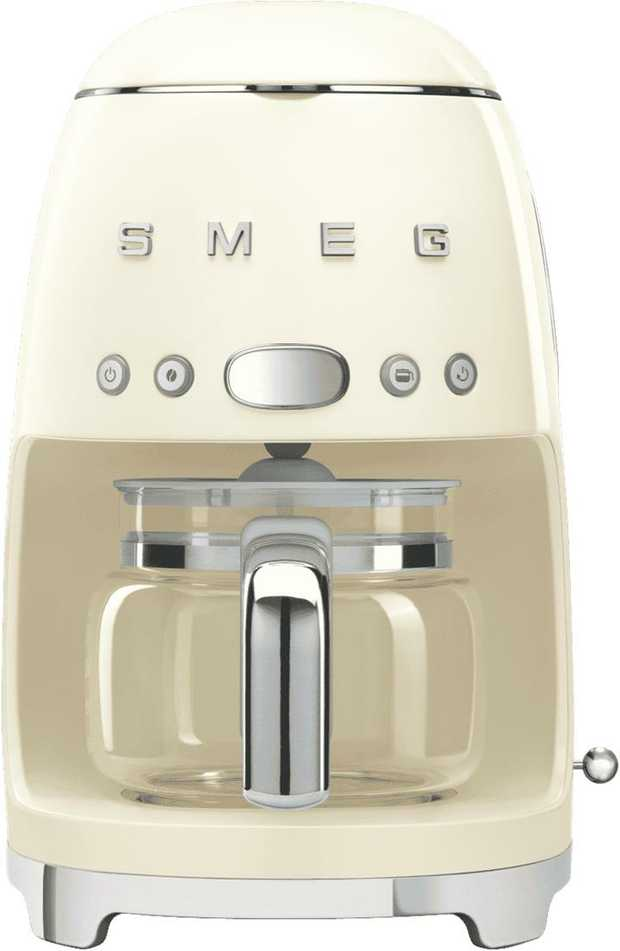 The Smeg DCF02CRAU has a 1.4 litre capacity. Serve up cups and cups of hearty, aromatic coffee with its...