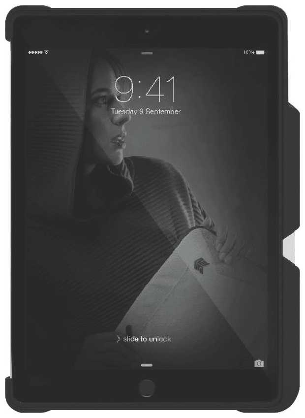 iPad 7th Gen Dux Duo Case (Black)