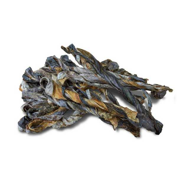 Mackerel Skin Twist - Naturally Dried Australian Fish Treats for Dog 250g