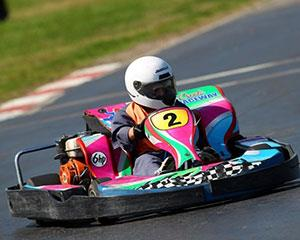 Give the 12-15-year-old kids the opportunity to feel the thrill of driving a 6HP kart around the Sydney...