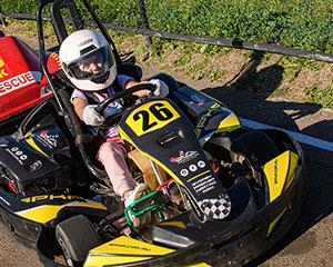 Give kids aged 8-11 the opportunity to feel the thrill of driving a CRG cadet kart around the Sydney...