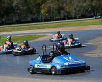 Take the kids aged 6-7 years for an epic karting ride with this double karting experience where you...