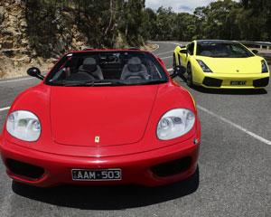 This incredible Ferrari and Lamborghini drive takes in some of the best driving on the Mornington...