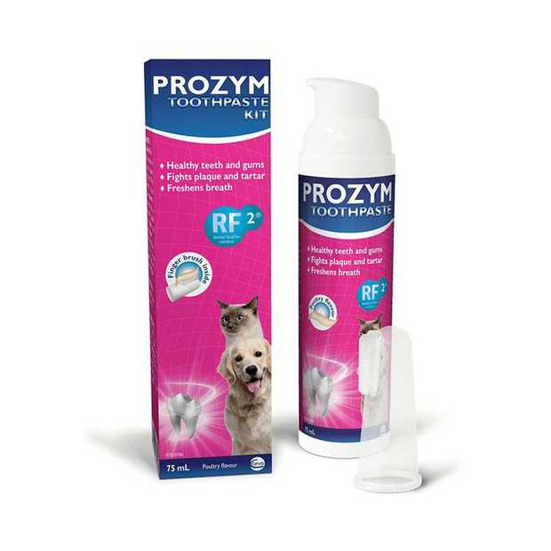 Prozym Dental Toothpaste for Dogs is an easy to use toothpaste treatment for your pet.  Coming with a...