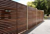 R&M Fencing (Vic)   Steel Fence Made to Measure •Steel Front Fence •Swing/ Sliding...
