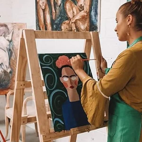 Unleash your inner Monet with a social paint class from The Sweet Fine Artist Studio! For three hours...
