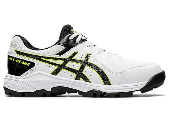 The GEL PEAKE 6 is built for hard wicket cricket, and other turf sports. This is a no fuss cricket shoe...
