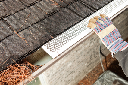 ARE YOUR GUTTERS LEAKING OR BLOCKED?   