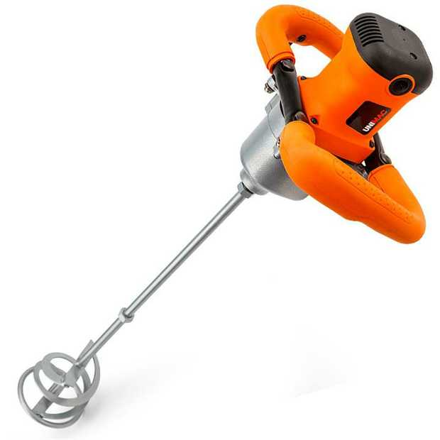 The UNIMAC Multifunction Mixer is the ultimate mixer for mortars, plaster, grouts and other viscous...