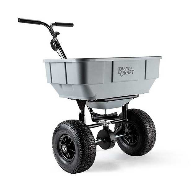 ThePlantCraft Push/Tow Broadcast Spreaderis designed to distribute a wide range of materials, and...
