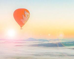 Breath-taking views in the early hours of the morning and the exhilaration of flying. Hot air...