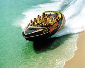 This 55-minute Gold Coast Jet Boat Ride is full on thrills from start to finish. Travel with the first...