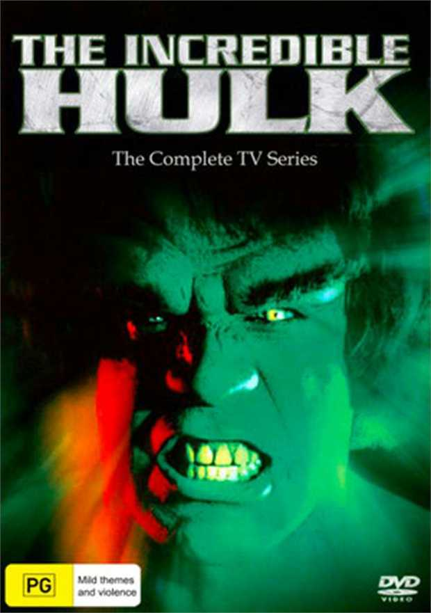 Incredible Hulk - The Complete Series DVD         Don't make me...