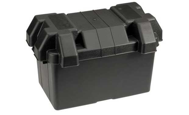 Large Battery BoxIdeal for securing batteries in areas exposed to the elements or where limited room is...