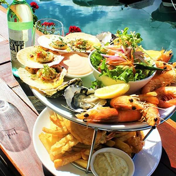 With beautiful views of the marina and Glenelg foreshore and deliciously fresh seafood, The Wharf is...