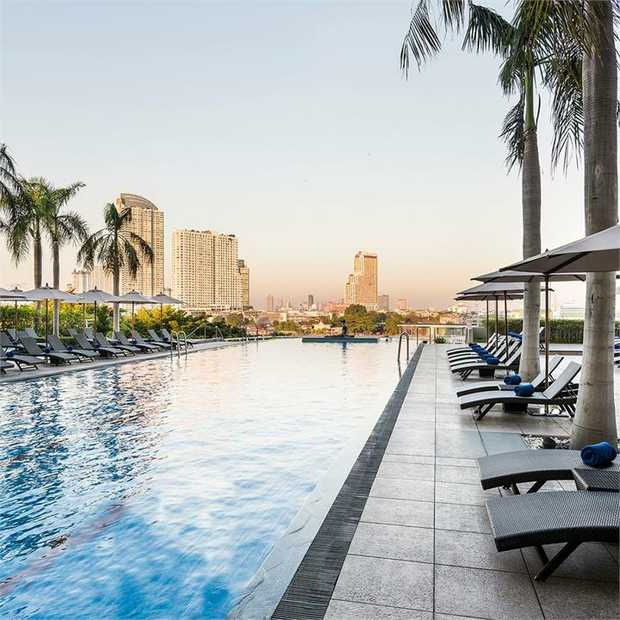 Experience five-star luxury at the Chatrium Hotel Riverside Bangkok — the perfect Thai escape set on...