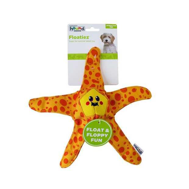 Outward Hound Floatiez Starfish Floating Squeaker Dog Toy