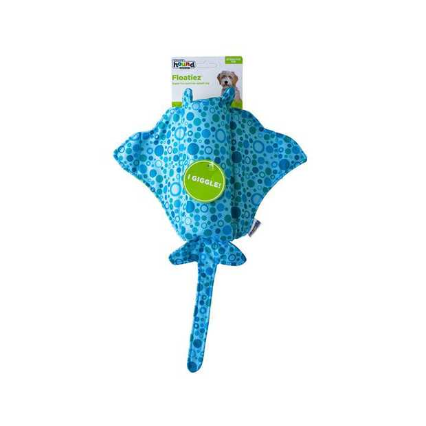 Outward Hound Floatiez Stingray Floating Squeaker Dog Toy