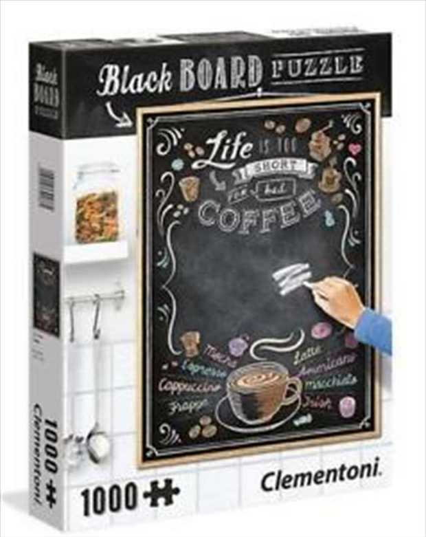 Blackboard Think Outside the Boxis a 1000 piece jigsaw puzzle which can be used as an actual...