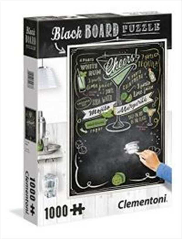 Blackboard Think Outside the Box is a 1000 piece jigsaw puzzle which can be used as an actual...
