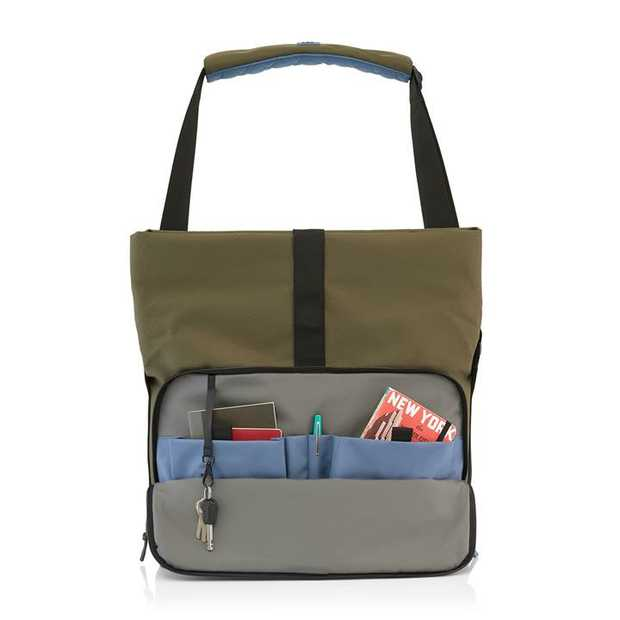 The Strength of Character large work messenger bag is designed for those pack a lot into their...