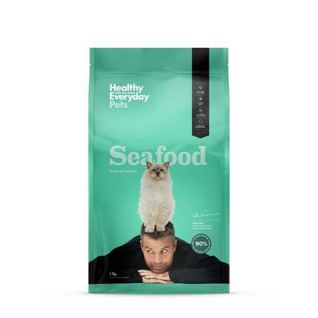 Healthy Everyday Pets Salmon Cat Food is a natural, Australian made, Paleo based diet for your cat. The...