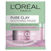For the first time, L'Oréal Paris Laboratories have selected three pure clays and combined them with...