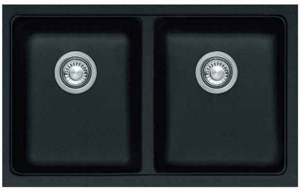 27L bowl capacity Semi integrated waste Fragranite finish Undermount installation Includes extension...