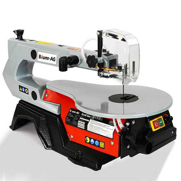 The Baumr-AG SS16 Series II Variable Speed Scroll Saw is a must have addition to any Handyman's...