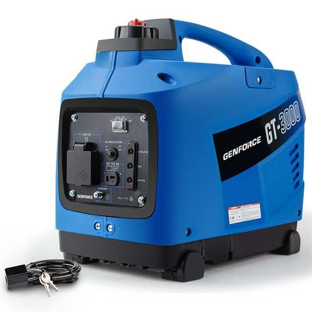 The GENFORCE GT3000 Generator has been designed with one thing in mind - convenience in the outback.