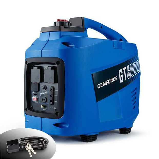 TheGENFORCE GT6000 Generatorhas been designed with one thing in mind - convenience in the outback.
