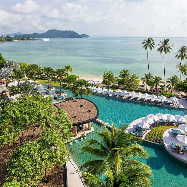 Treat yourself to a tropical escape at the Pullman Phuket Panwa Beach Resort – a five-star oasis...