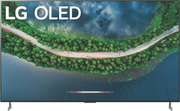 "This LG 77"" GX 4K UHD Smart Gallery OLED TV OLED77GXPTA features over 8 million self-lighting pixels..."