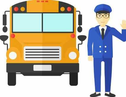 Casual School Bus Driver