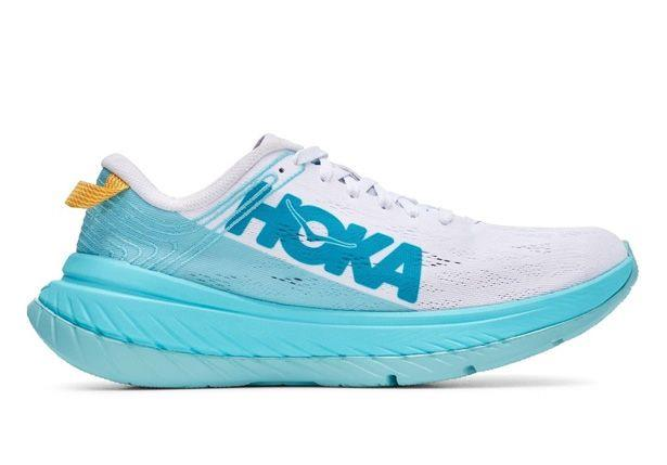 The Carbon X by Hoka One One is super lightweight performance shoe that has never before seen...