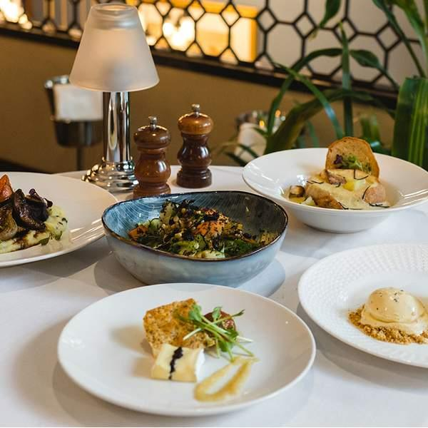 Experience culinary excellence with a tantalising five-course truffle degustation at the...