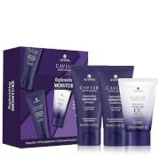 Discover Caviar Anti-Aging Replenishing Moisture . This 3-piece deluxe travel size kit works together...