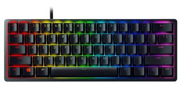Razer Optical switches Razer Clicky optical switches Improved Razer linear optical switches Ideal for...