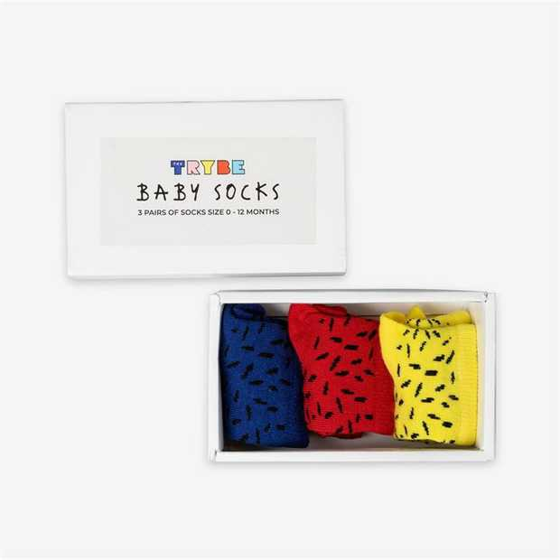 The Trybe's 3-Pack Socks will ensure that their toes are always looking and feeling their best. Each...