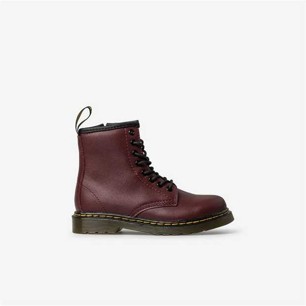 Junior reproductions of the 1460 8-eye boot offer a sturdy, yet flexible sole combined with soft and...