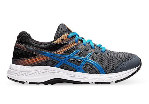 A fan favourite for young runners, the ASICS Contend 6 Grade school is the latest model in the story.