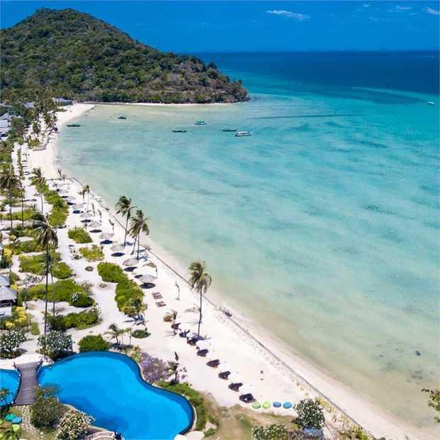 Discover Phi Phi Island Village Beach Resort, a Thai island gem perched on a private 800-metre stretch...