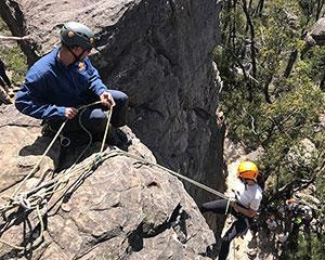 Enjoy the thrill of scaling down cliffs on this three-hour outdoor abseiling adventure in Victorias...