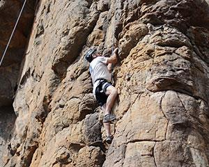 Enjoy the thrill of scaling epic cliffs and crags on this outdoor rock climbing adventure in Victorias...